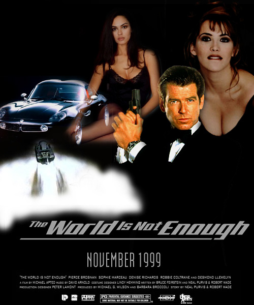 the world is not enough poster. the world is not enough movie